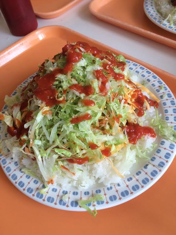 タコライスチーズ野菜